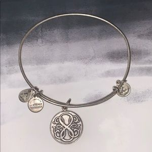 "Alex & Ani Silver ""Path of Life"" Bracelet"
